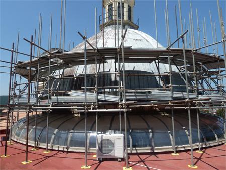 Dome Restoration Work